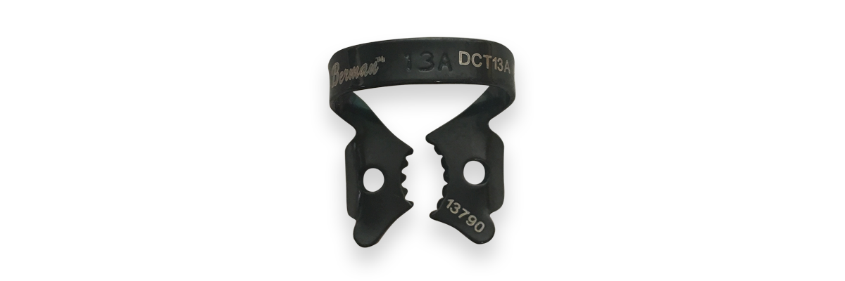 13A Black Rubber Dam Clamp