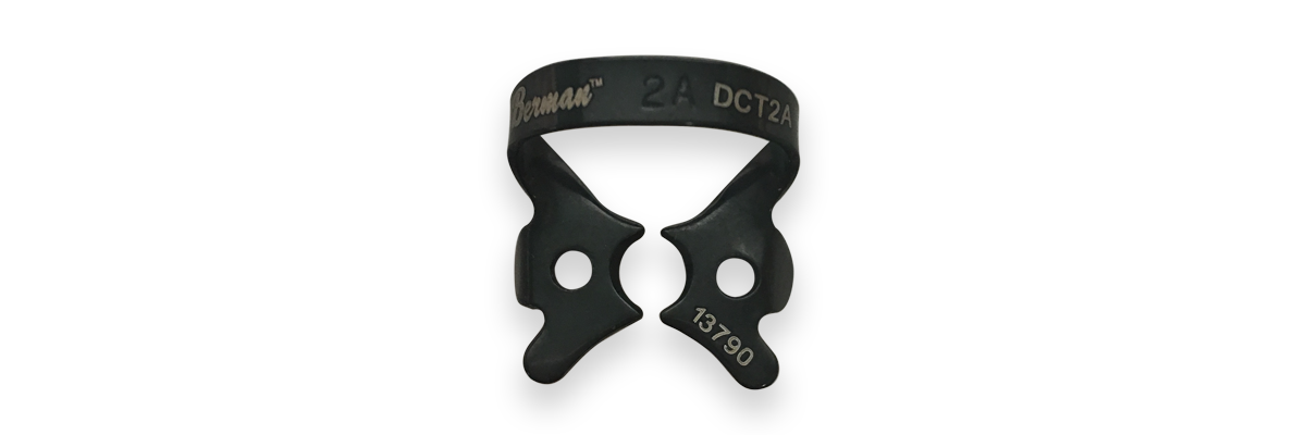 No. 2A Black Rubber Dam Clamp