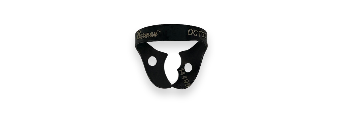 No. 30 Black Coated Rubber Dam Clamp